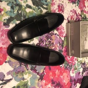 Kids Boys like new dress band shoes black slip on